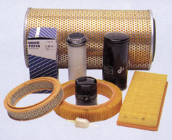 Sale of air, oil, fuel and hydraulic filters