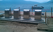Underground containers, Tivat